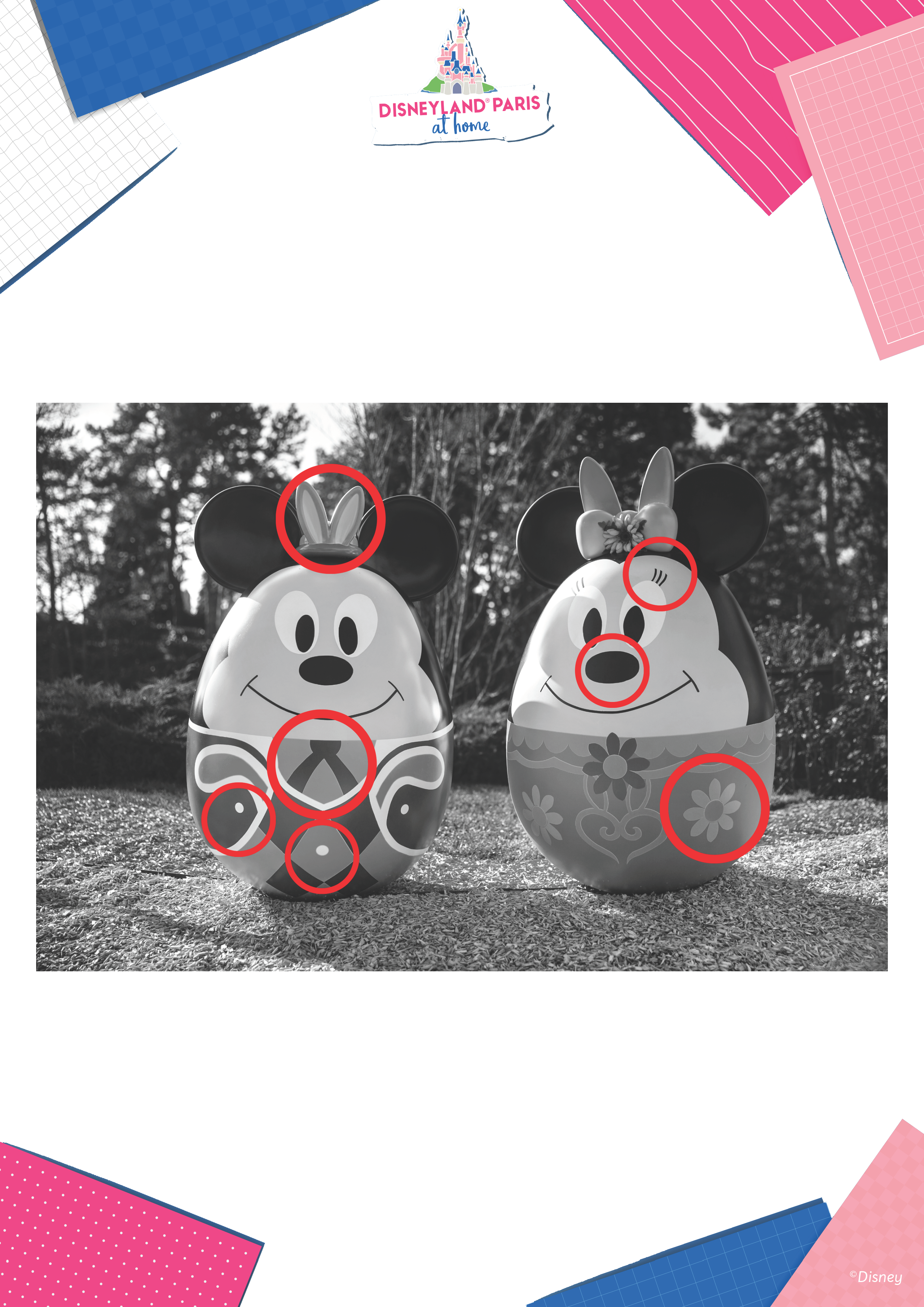 7 Différences Pâques