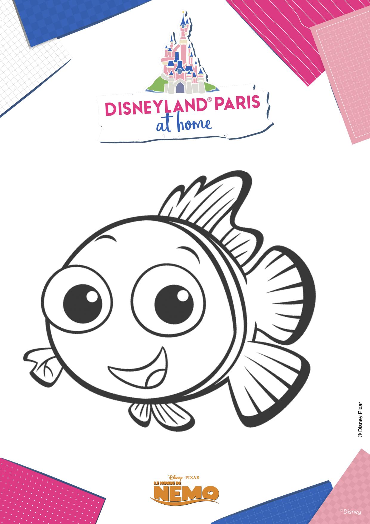 Coloriage Nemo