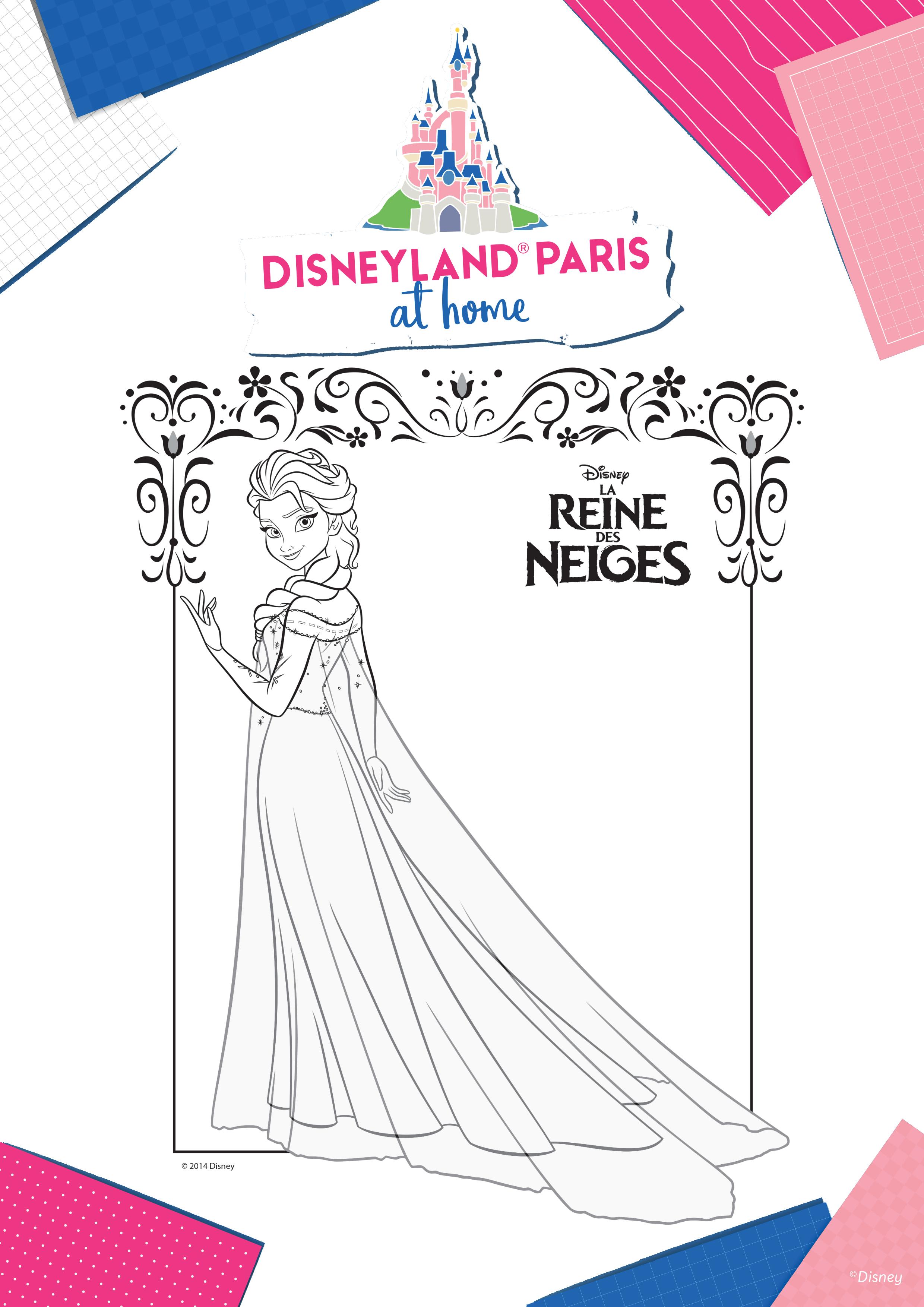 Coloriage Elsa