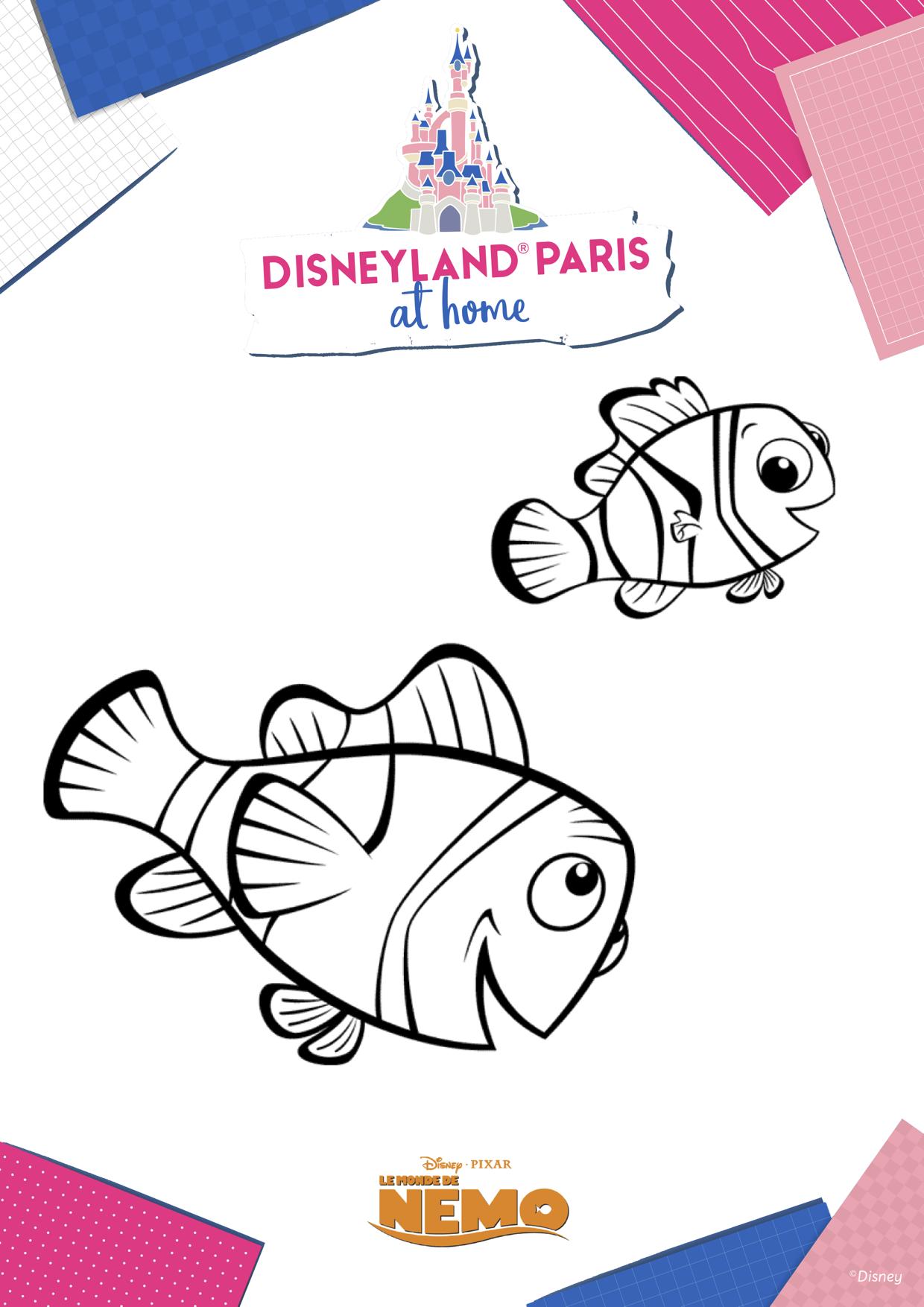 Coloriage Nemo 2
