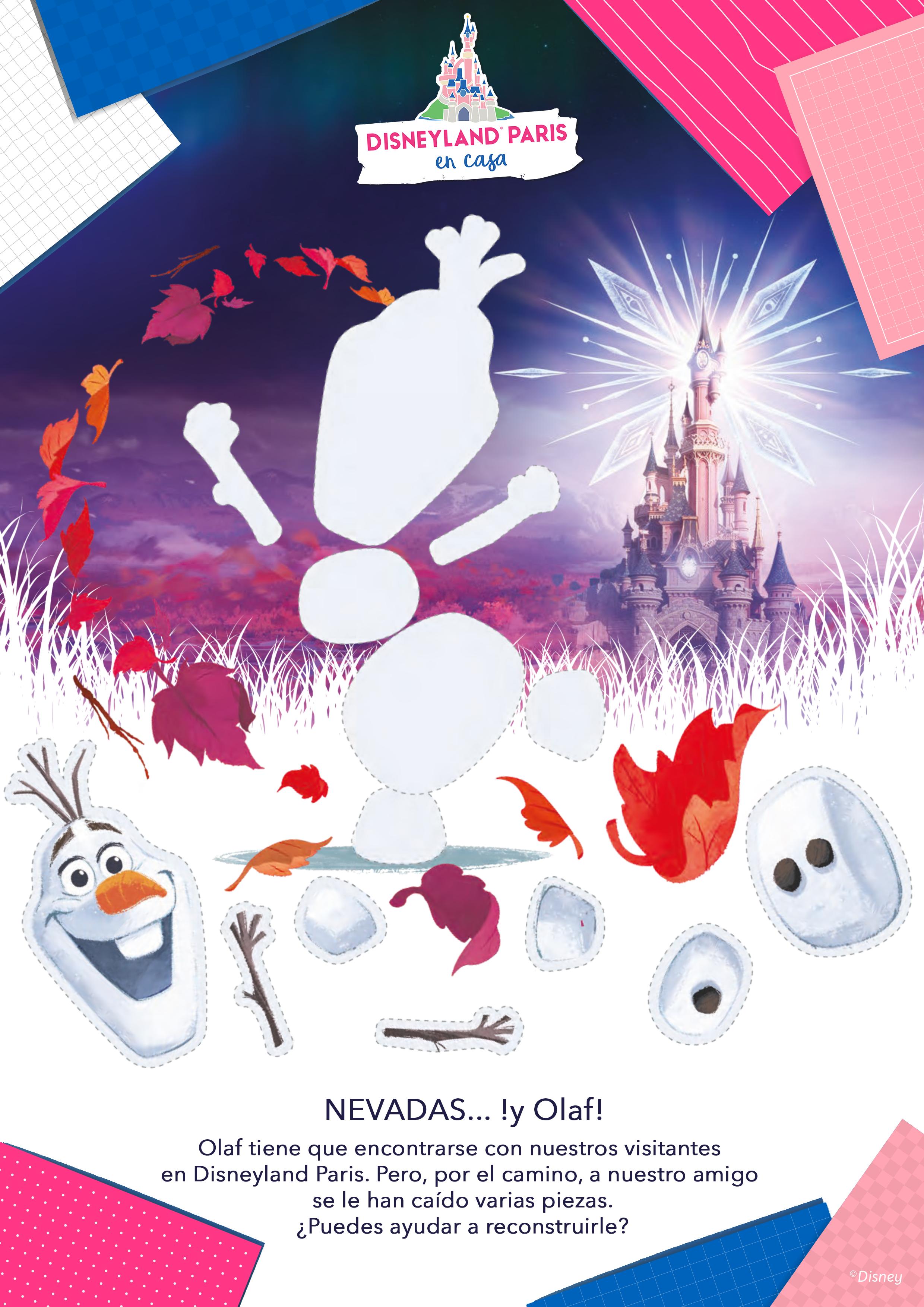 Nevadas… !y Olaf!