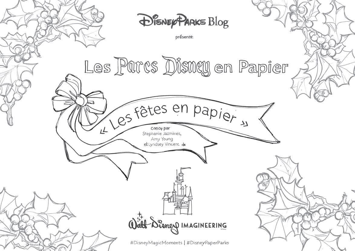 Les Parcs Disney en Papier