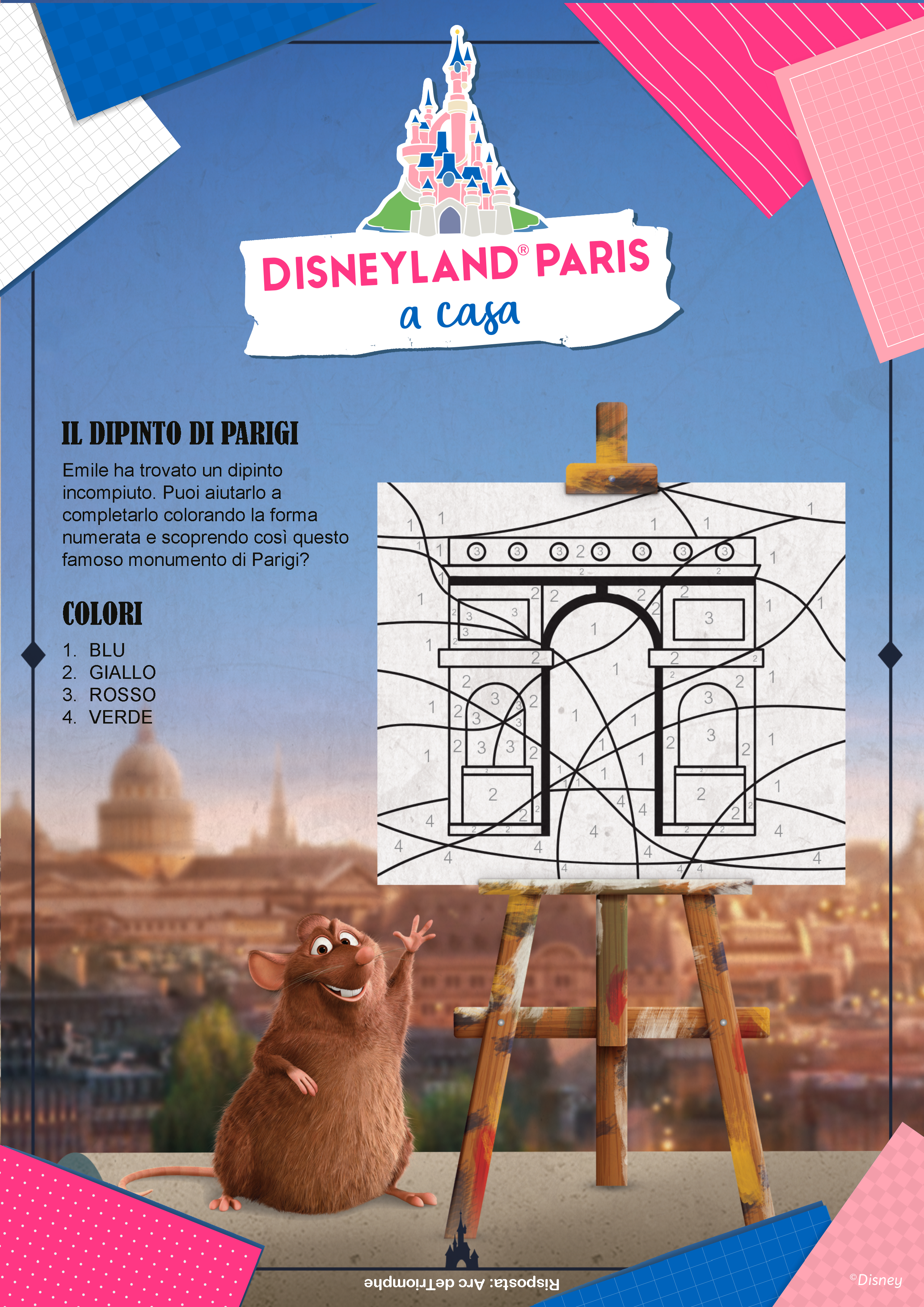 Il dipinto di Parigi